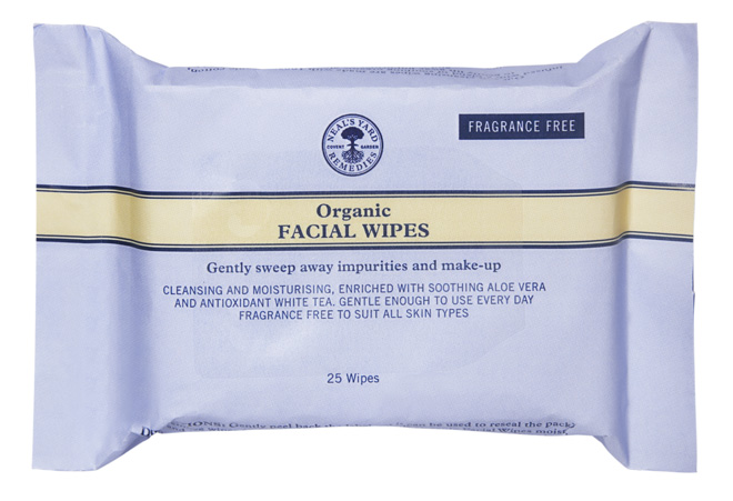 organic face wipes