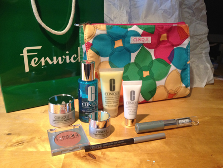 Reviewed: The new Clinique Bonus Time gift at Fenwick Newcastle - Beauty And The North East