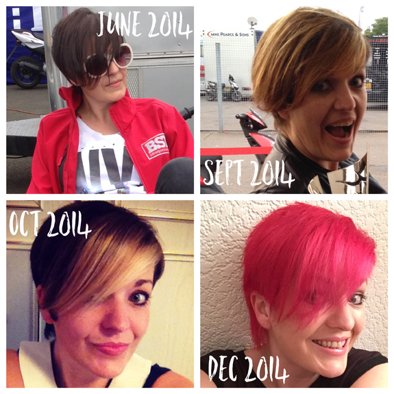 Growing out short hair: Part 1